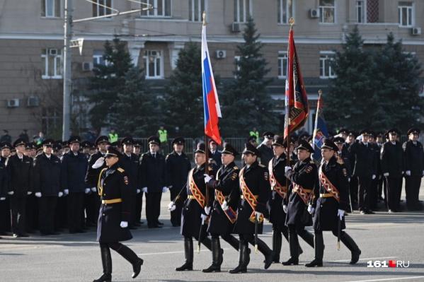 В Ростове парад проходит третий год подряд