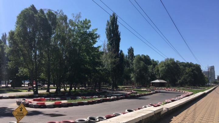 «Смертельно опасно»: энергетики объяснили, почему выгоняют школу картинга из парка Гагарина в Самаре