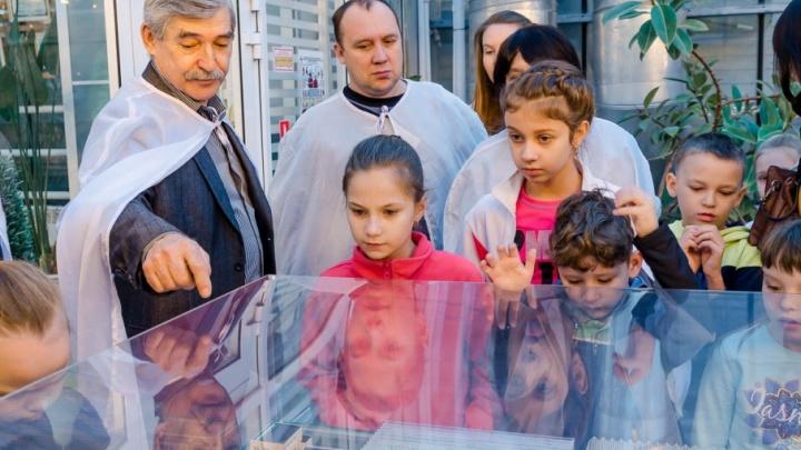 В Агрокомплексе «Чурилово» прошла экскурсия для детей и их родителей