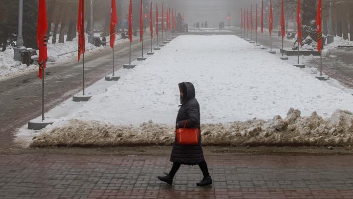 Восточный ветер и туман: вместе с Новым годом на Волгоград движется потепление