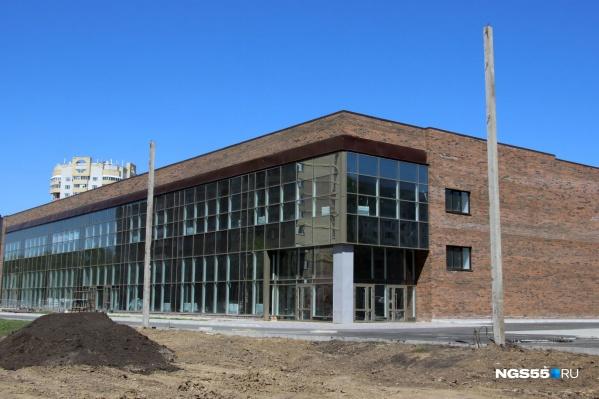 Здание планируют открыть в июле