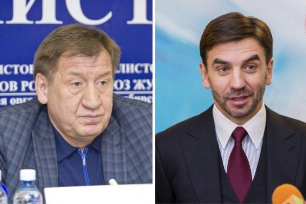 Иван Стариков (слева) был начальником Михаила Абызова в 90-х