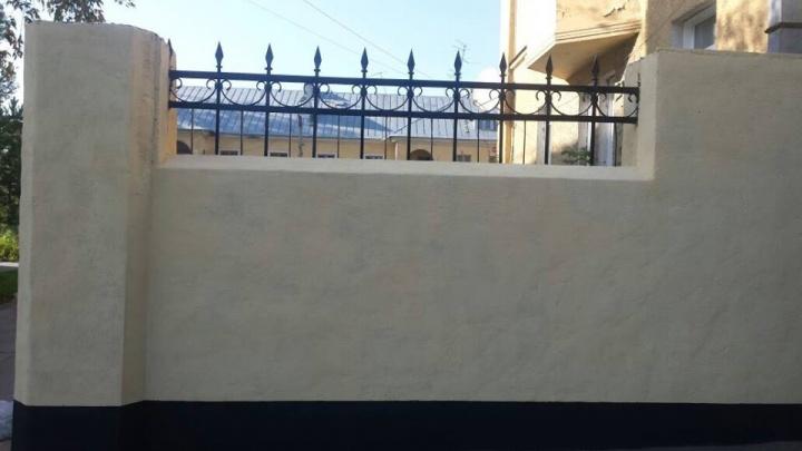 Забор за 100 тысяч: на Богдашке восстановили разрушенную старинную ограду