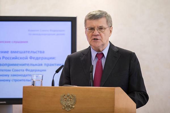 Юрий Чайка завтра проведёт совещание в Красноярске