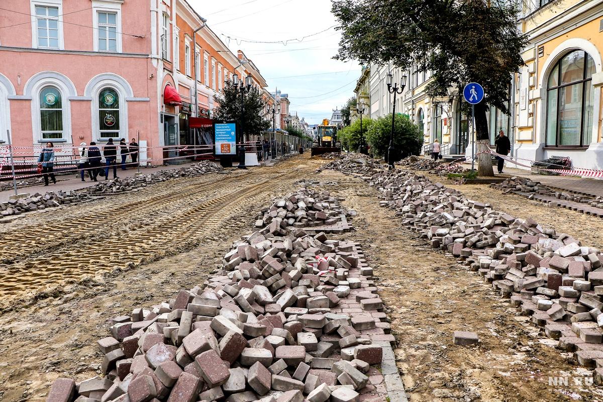 На основной улице города брусчатку поменяют награнитные плиты