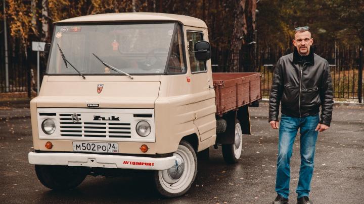 Тюменец выкупил у челябинского коллекционера редкого польского «Жука»