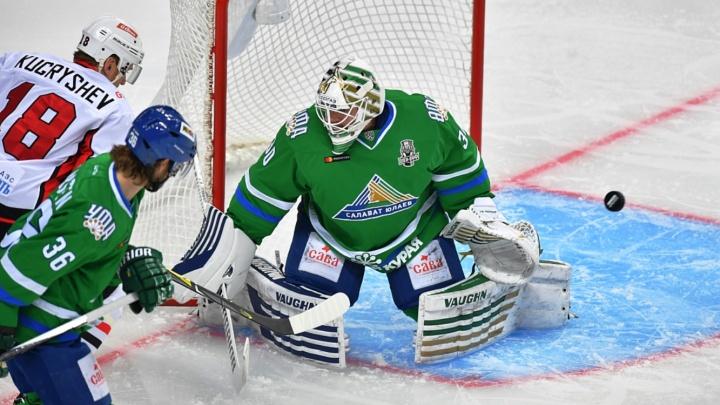 «Авангард» против «Салавата»: финский дубль, шведский гол и неоправданные удаления