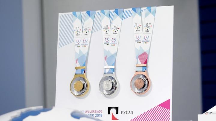 Медали Универсиады презентовали в Красноярске