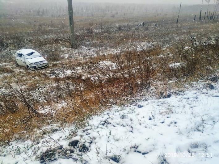 Авария произошла в 18 км от Шарыпово
