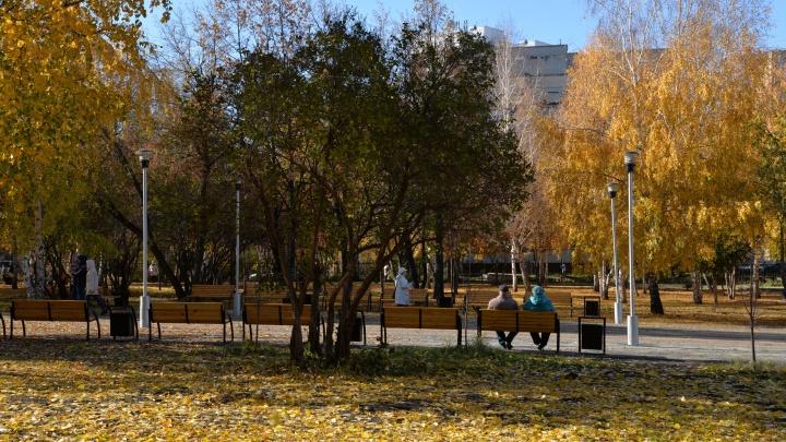 В парке Победы установили новые детские площадки