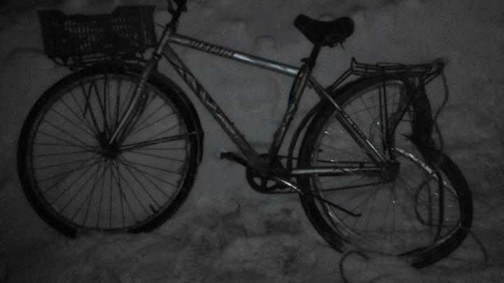 В Шадринске сбили велосипедиста, ехавшего без световозвращающих элементов