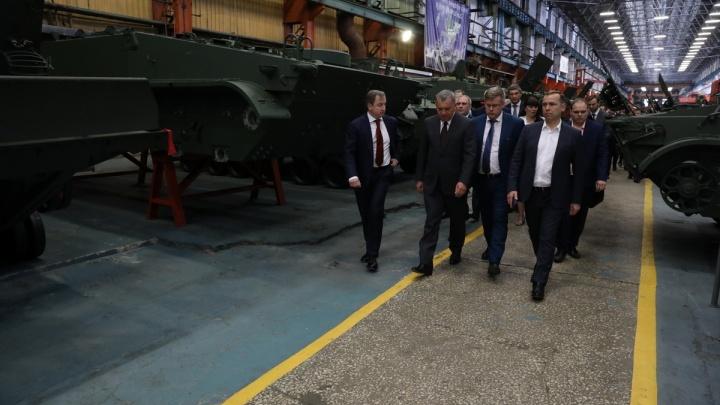 Заместитель председателя правительства РФ побывал на двух крупнейших предприятиях Кургана