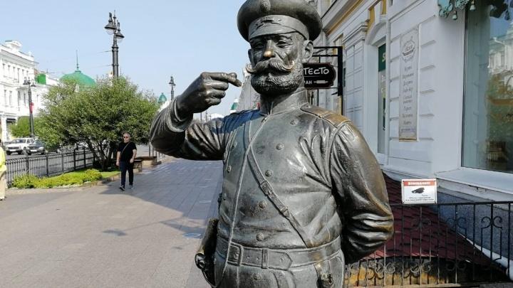 Рядом со статуей Городового появится бронзовый спаниель