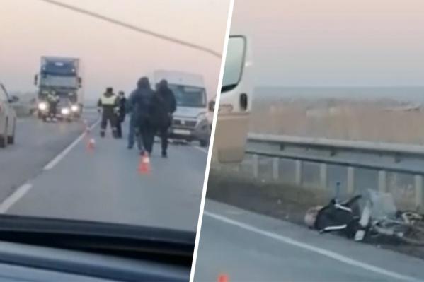 Велосипедист скончался еще до приезда скорой помощи