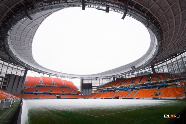 Арена в Екатеринбурге — одна из семи, где установят антивандальные ограждения