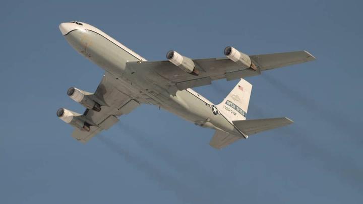 Над Новосибирском пролетел самолёт-разведчик из США