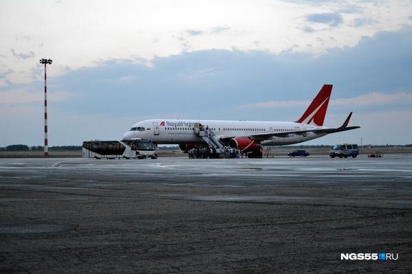 Самолёт авиакомпании должен был вылететь в Таиланд в среду вечером