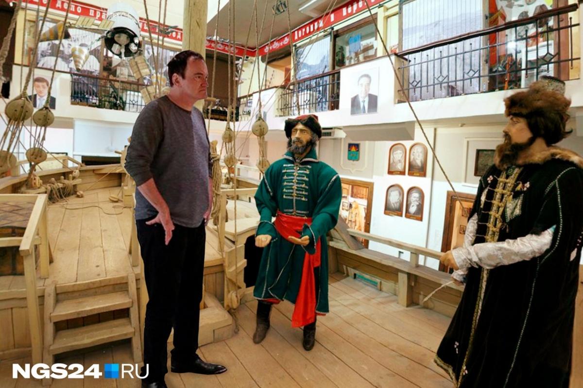 А здесь он в Красноярском краевом краеведческом музее