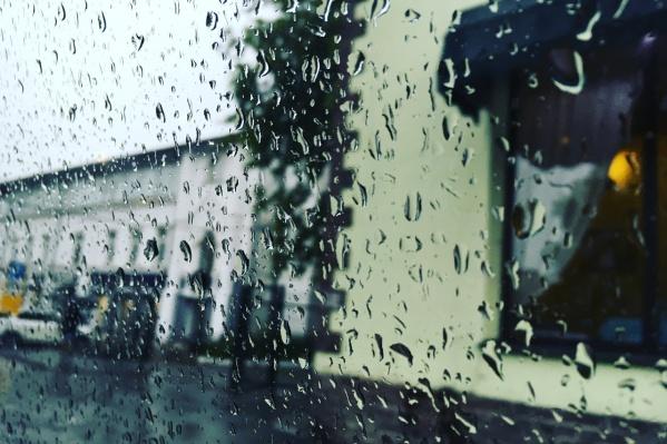 22 сентября будут дожди
