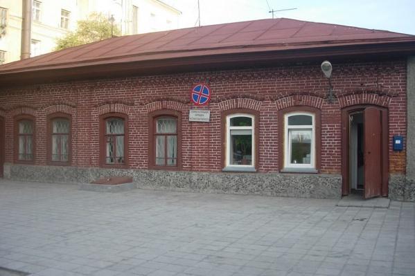 Здание на ул. Журинской, 14 до сноса