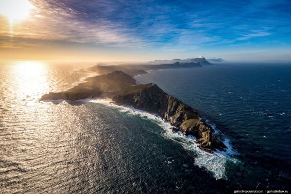 Мыс Доброй Надежды ошибочно называют самой крайней южной точкой Африки. На самом деле он является самой крайней юго-западной точкой