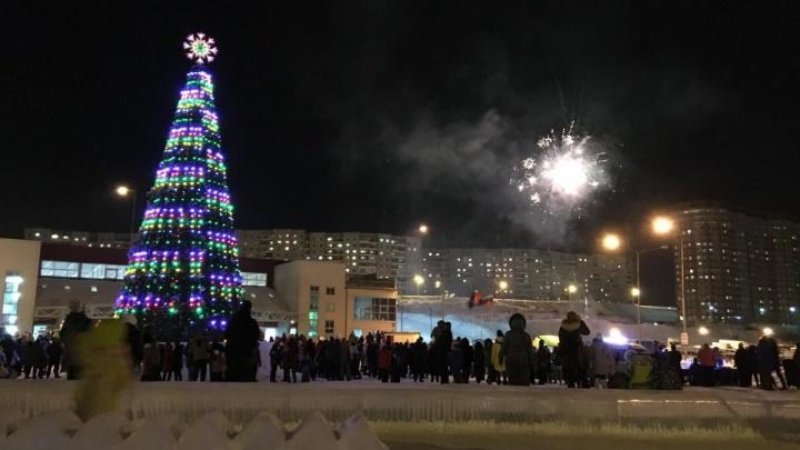 Жители «Солнечного» собрали 16 тысяч рублей на общий фейерверк