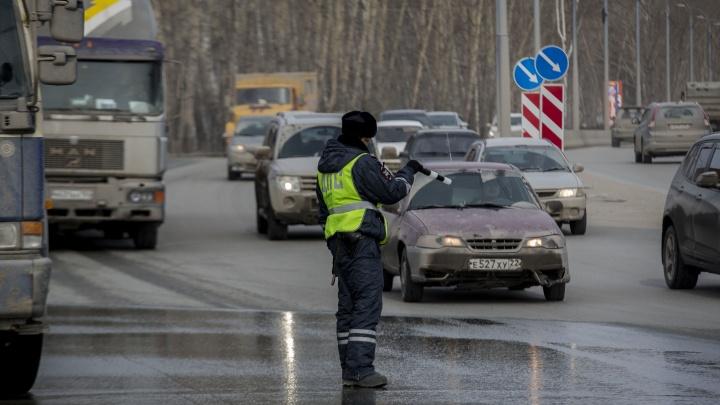 Автоинспекторы начали ловить пьяных водителей с самого утра пятницы
