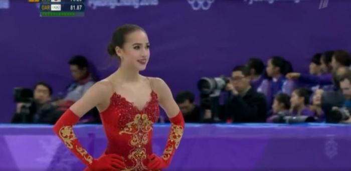 Алина Загитова стала олимпийской чемпионкой