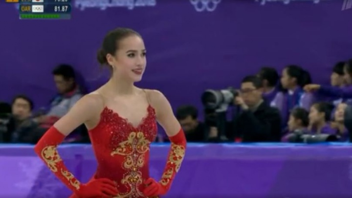 Фигуристка Алина Загитова принесла России первое золото Олимпийских игр