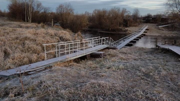 Глава Серова заявил, что мост-аттракцион в Филькино безопасен для людей