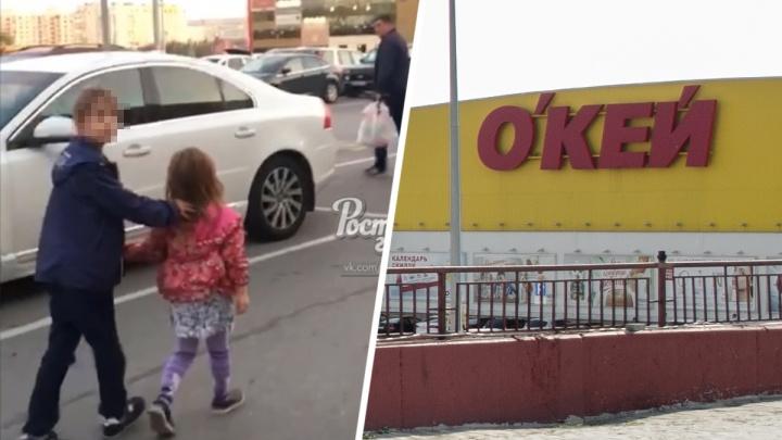 «Только что бил свою дочь»: посетительница ростовского ТЦ сняла на видео мужчину с плачущим ребенком