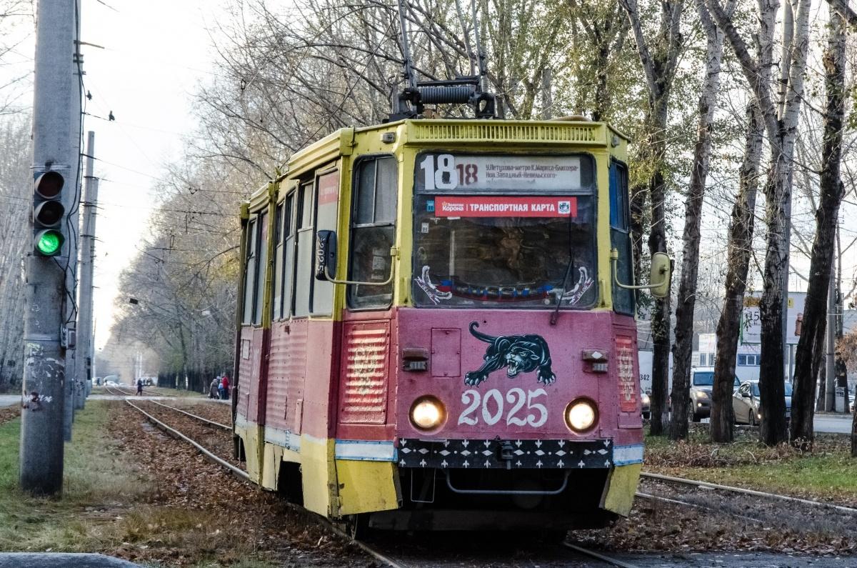 Маршрут трамваев изменится только при движениив сторону Юго-Западного жилмассива