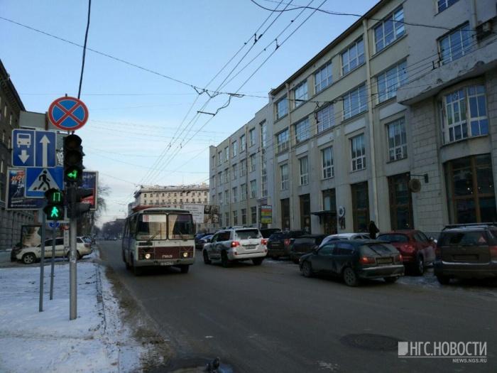 Сейчас по участку Советской от Вокзальной магистрали до Ленина может ездить только общественный транспорт