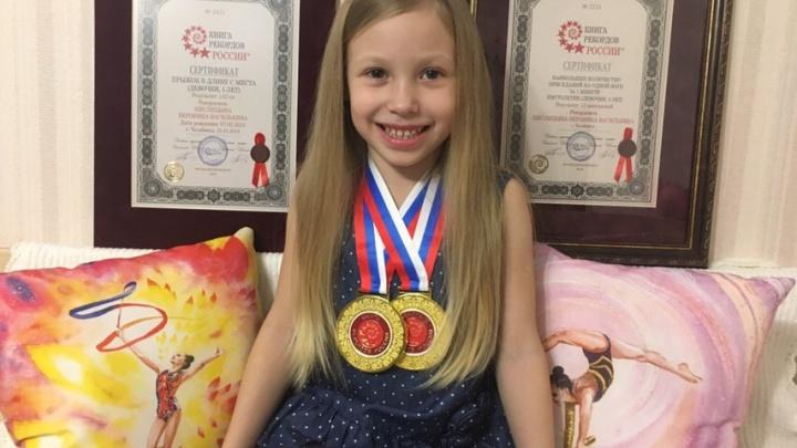 «Всегда хочет быть первой»: пятилетняя челябинка второй раз попала в Книгу рекордов России