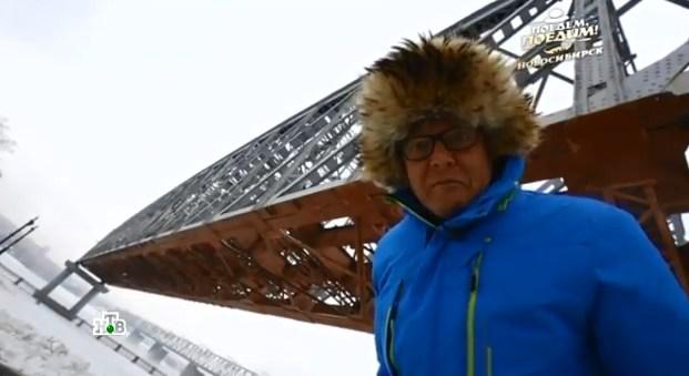 Телеведущий Джон Уоррен в Новосибирске
