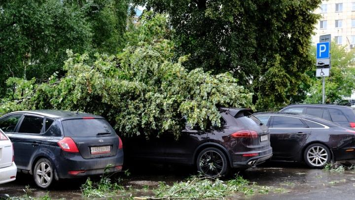 И вот опять: МЧС предупреждает жителей Прикамья о грозе, граде и штормовом ветре