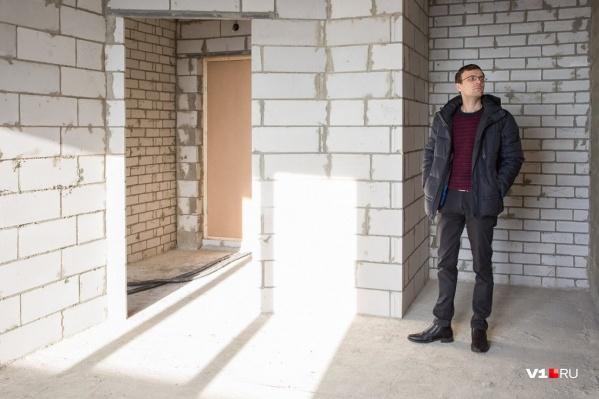 В этом году в Волгоград построили на 30% больше жилья, чем в прошлом
