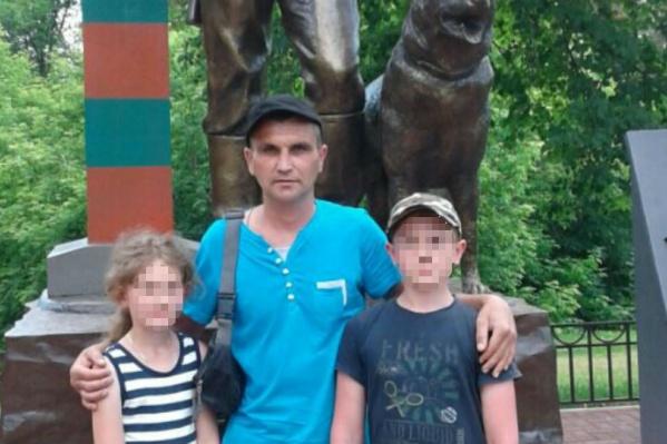У Виталия остались двое детей