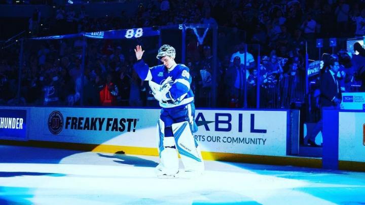 Воспитанника «Салавата Юлаева» признали лучшим вратарём НХЛ