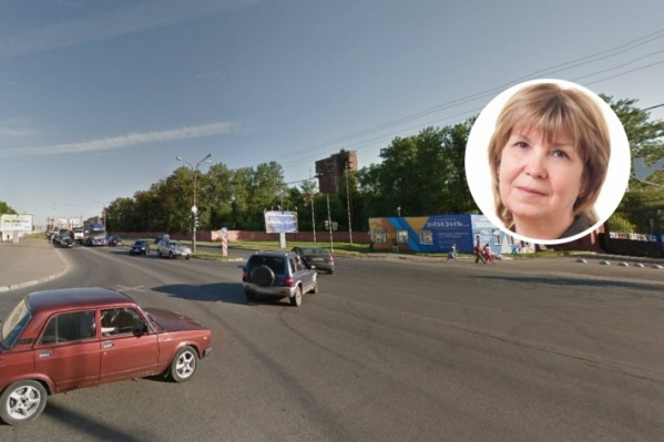 На фото — место ДТП, Ирина Пермякова была учительницей