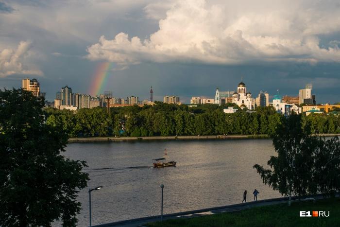 Лето пока не спешит покидать Средний Урал