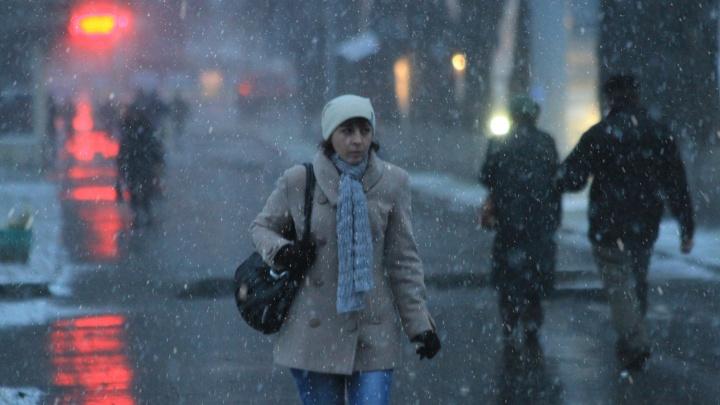 На Башкирию надвигается дождь со снегом. Готовьтесь к гололеду