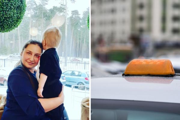 По словам девушки, таксист закрыл двери и начал ей угрожать