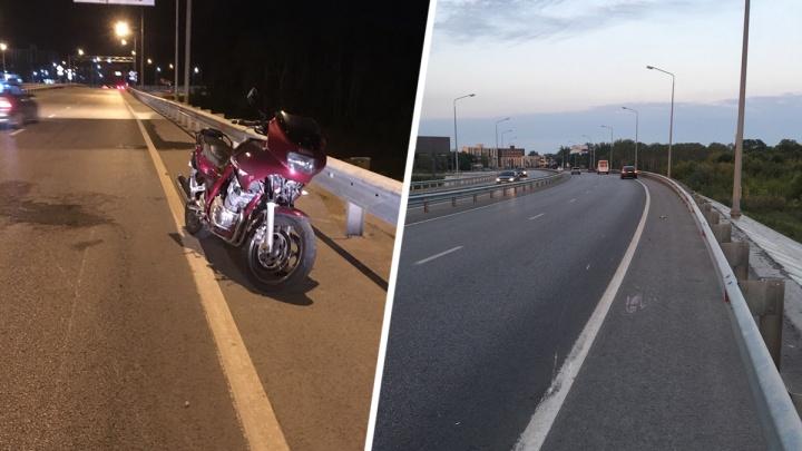 Рядом с «Ростов Ареной» разбился мотоциклист