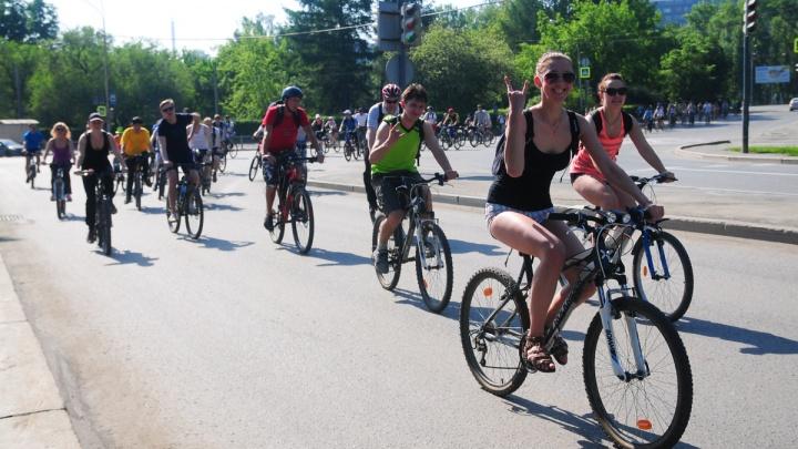 «Майская велопрогулка» в этом году стартует из Академического
