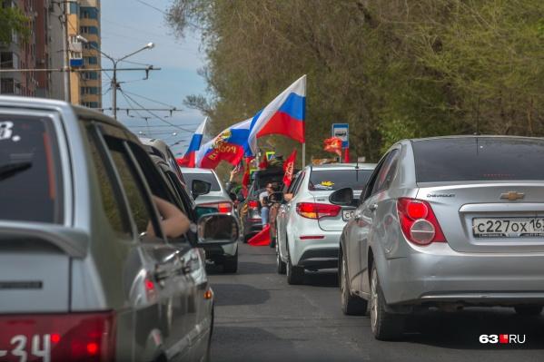 Депутаты хотят, чтобы городских флагов в Самаре было больше