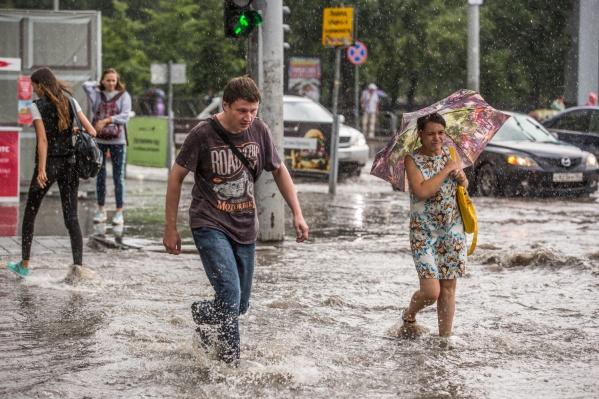 Синоптики ожидают, что даже в дождливые дни могут быть прояснения