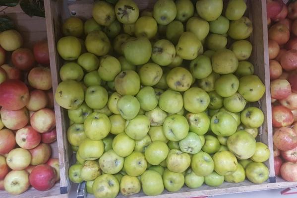 Зараженные вредителями яблоки в Зауралье привезли из Азербайджана