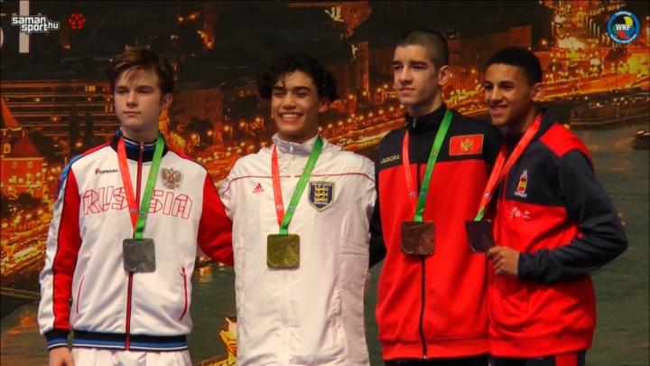 «Таких результатов давно не было»: свердловский каратист завоевал серебро на первенстве Европы