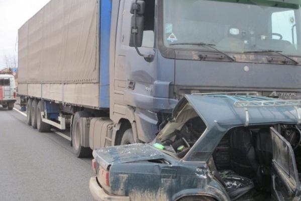 В аварии под Переславлем погибли три человека